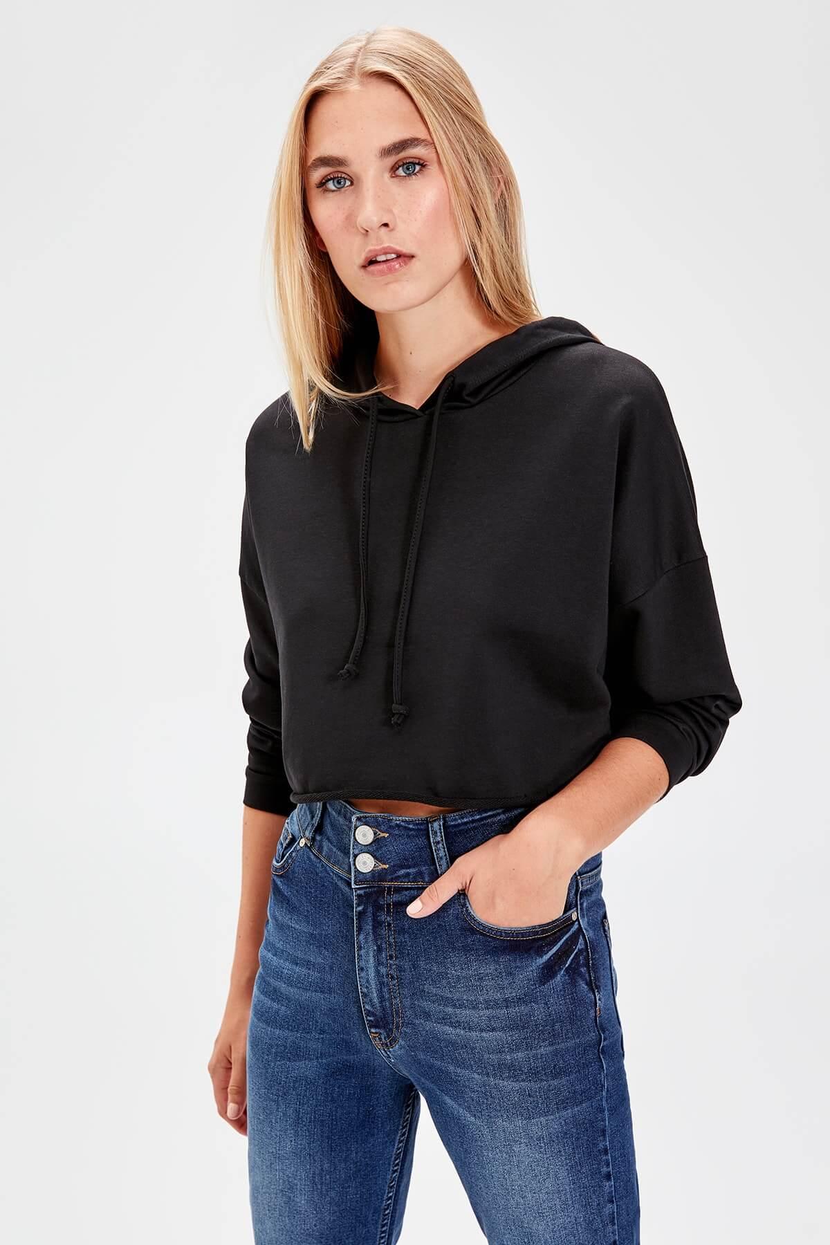 trendyol sweatshirt kadın