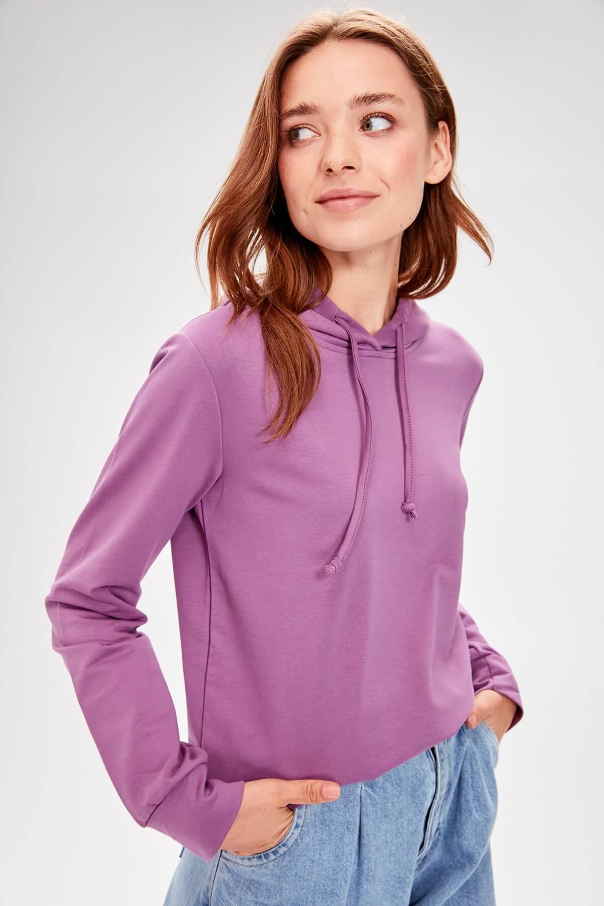 trendyol mila kadın sweatshirt
