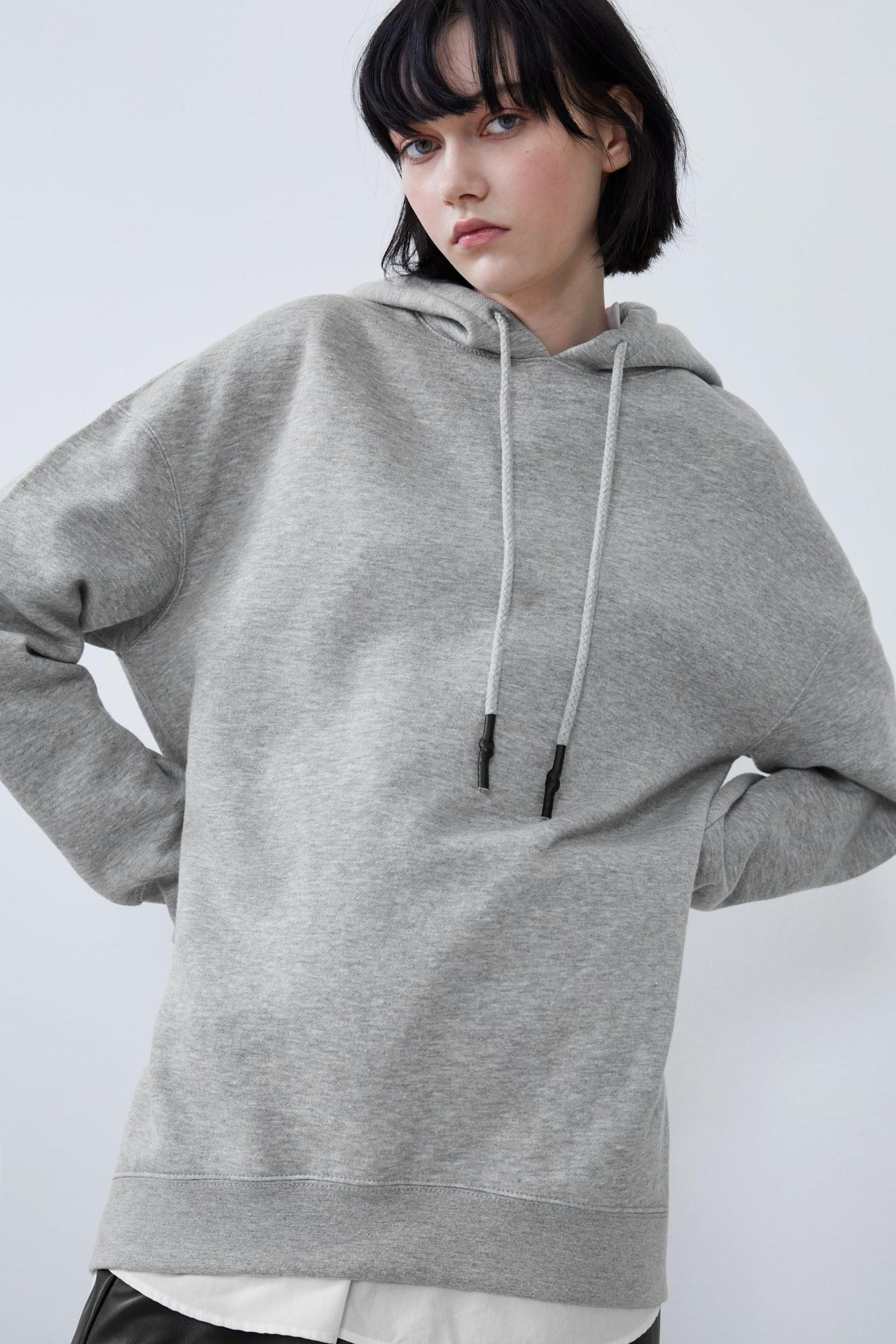 zara oversize sweatshirt kadın