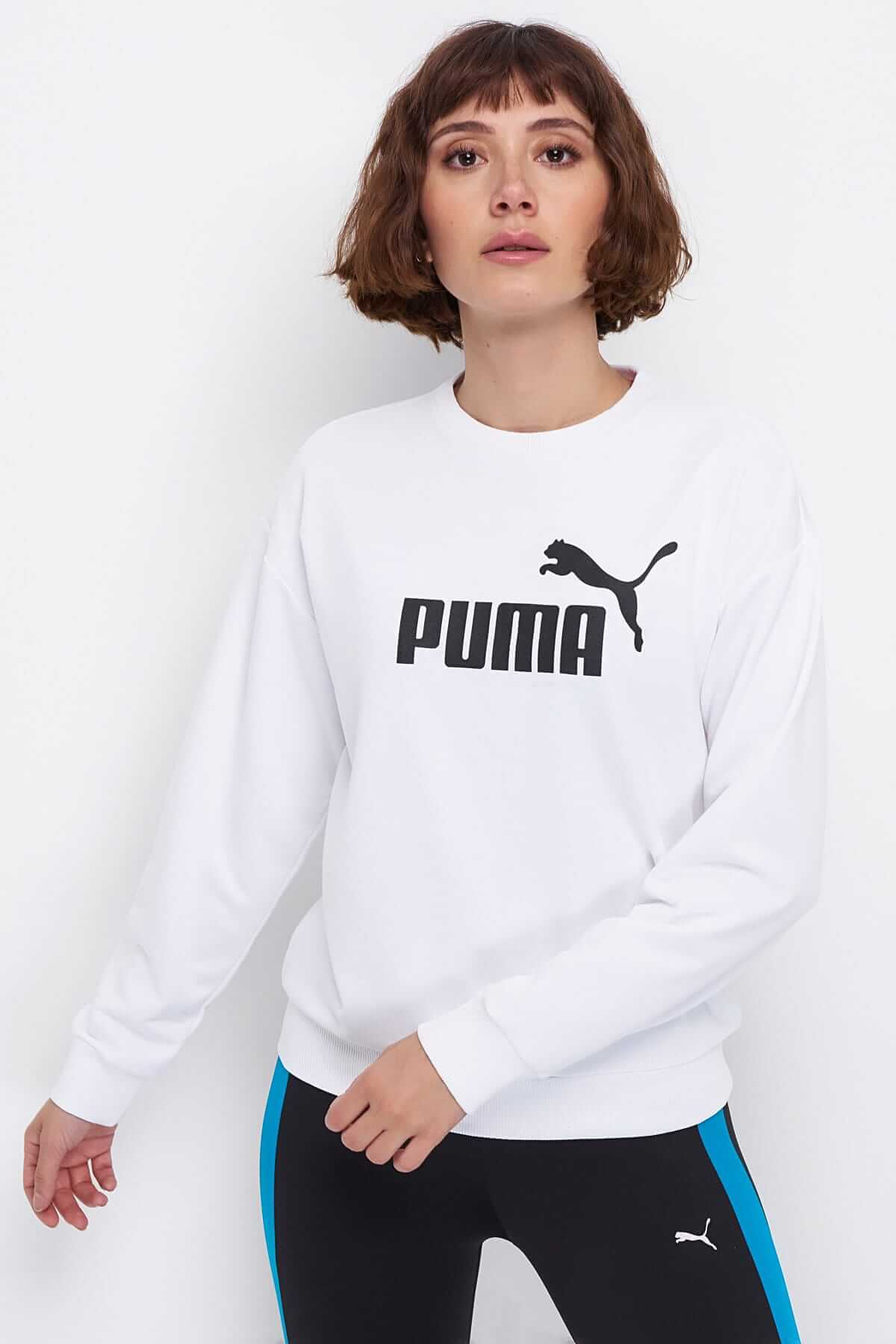 kadınlar için beyaz sweatshirt modelleri