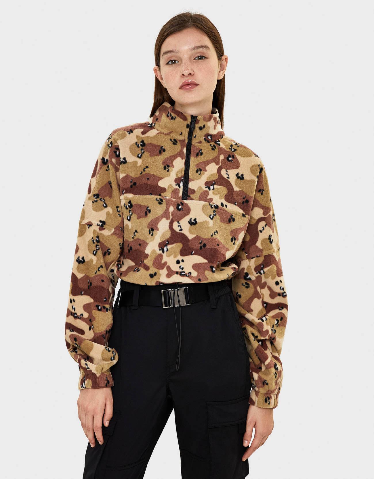 Bershka Kadın Sweatshirt