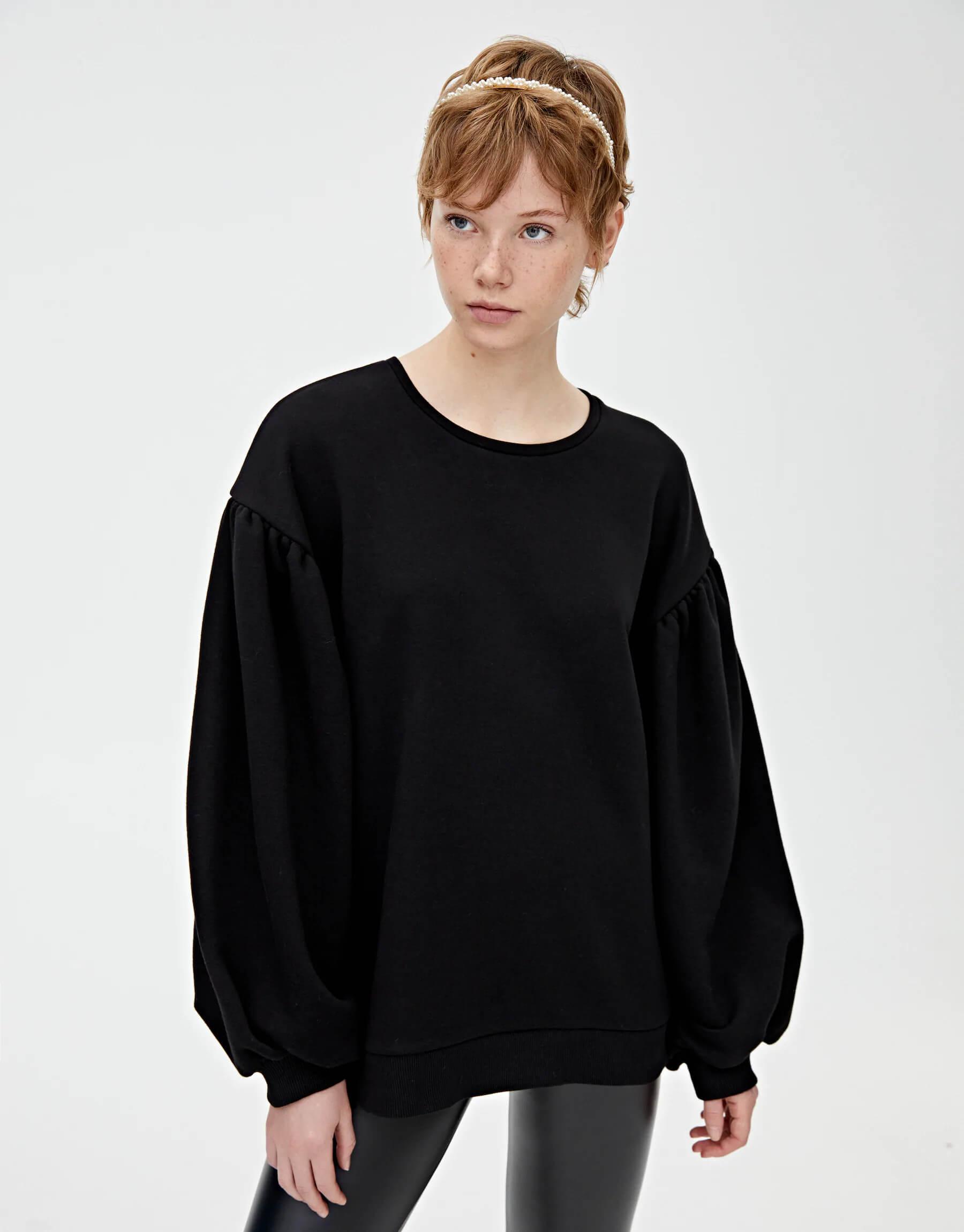 Pull and Bear Kadın Sweatshirt