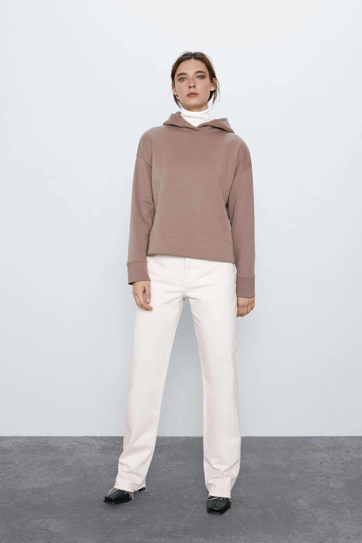 Zara Sweatshirt Kadın