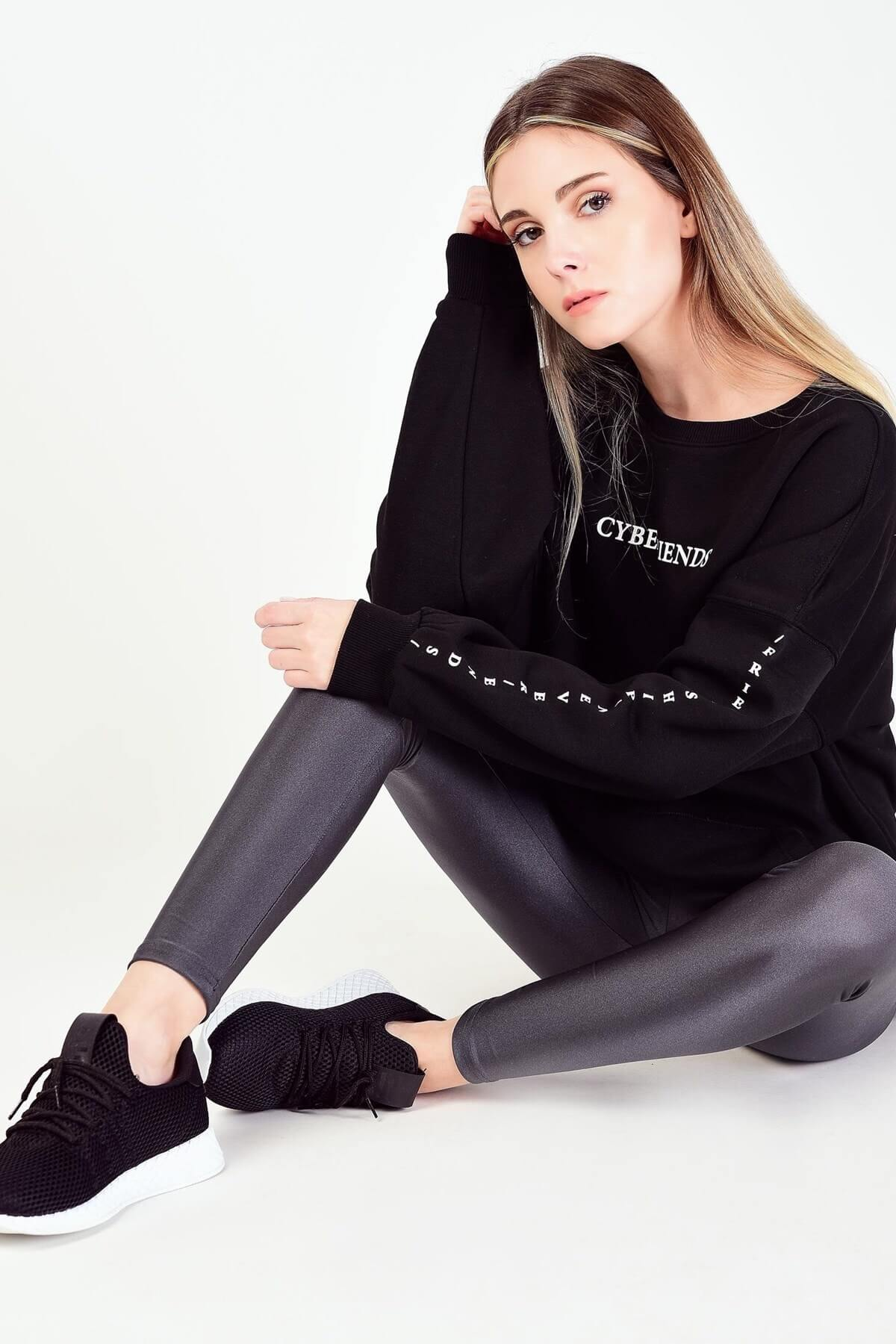 Trendyol Siyah Sweatshirt