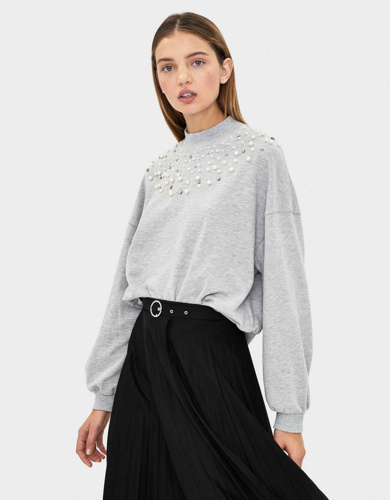 Bershka Kadın Sweatshirt Modelleri