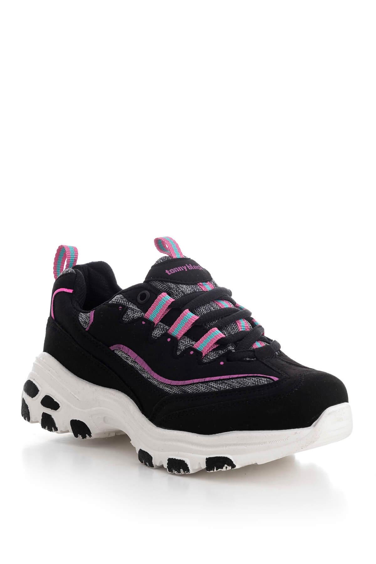 tommy dolgu topuk spor ayakkabı