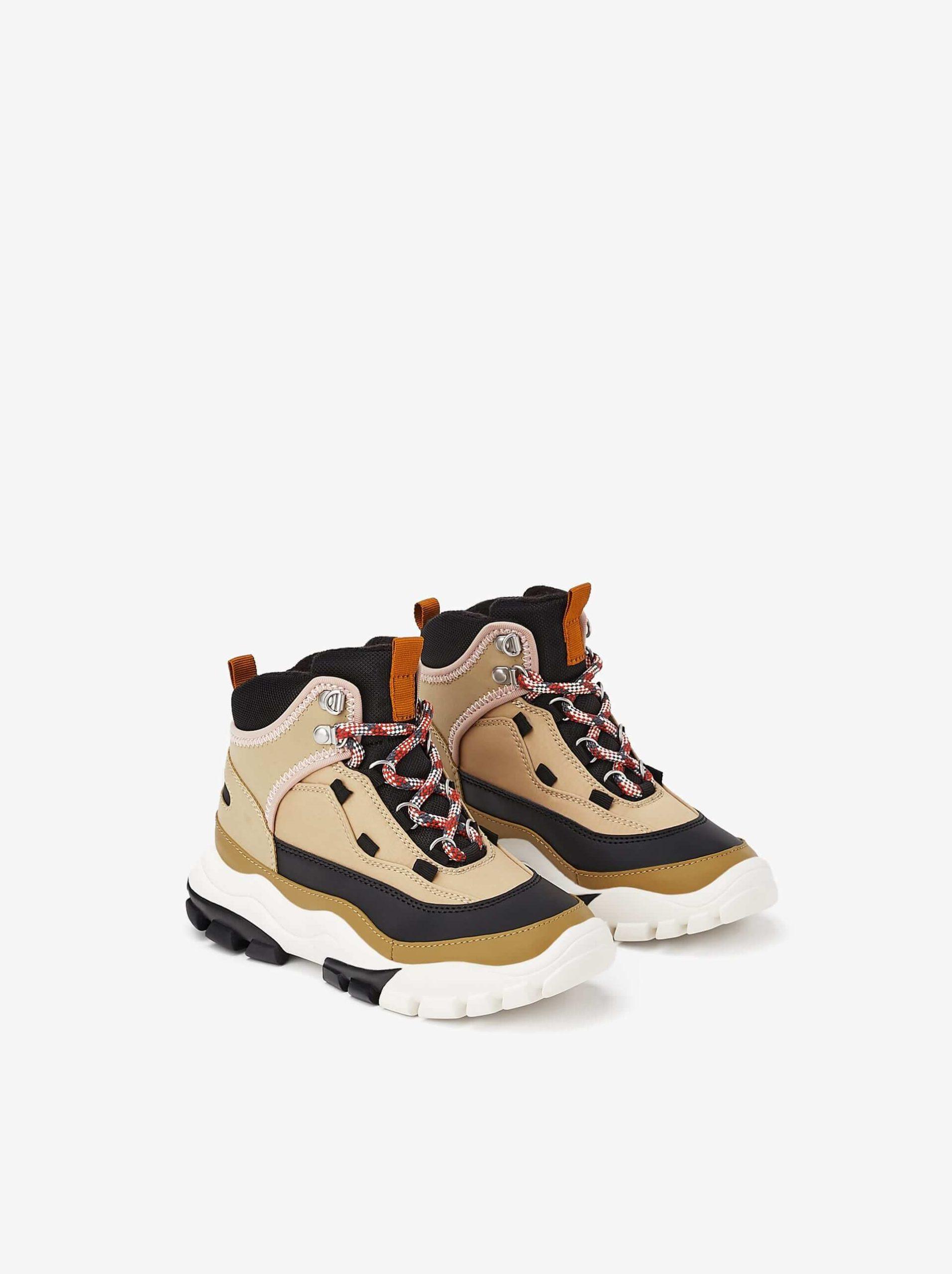 kalın tabak spor ayakkabı