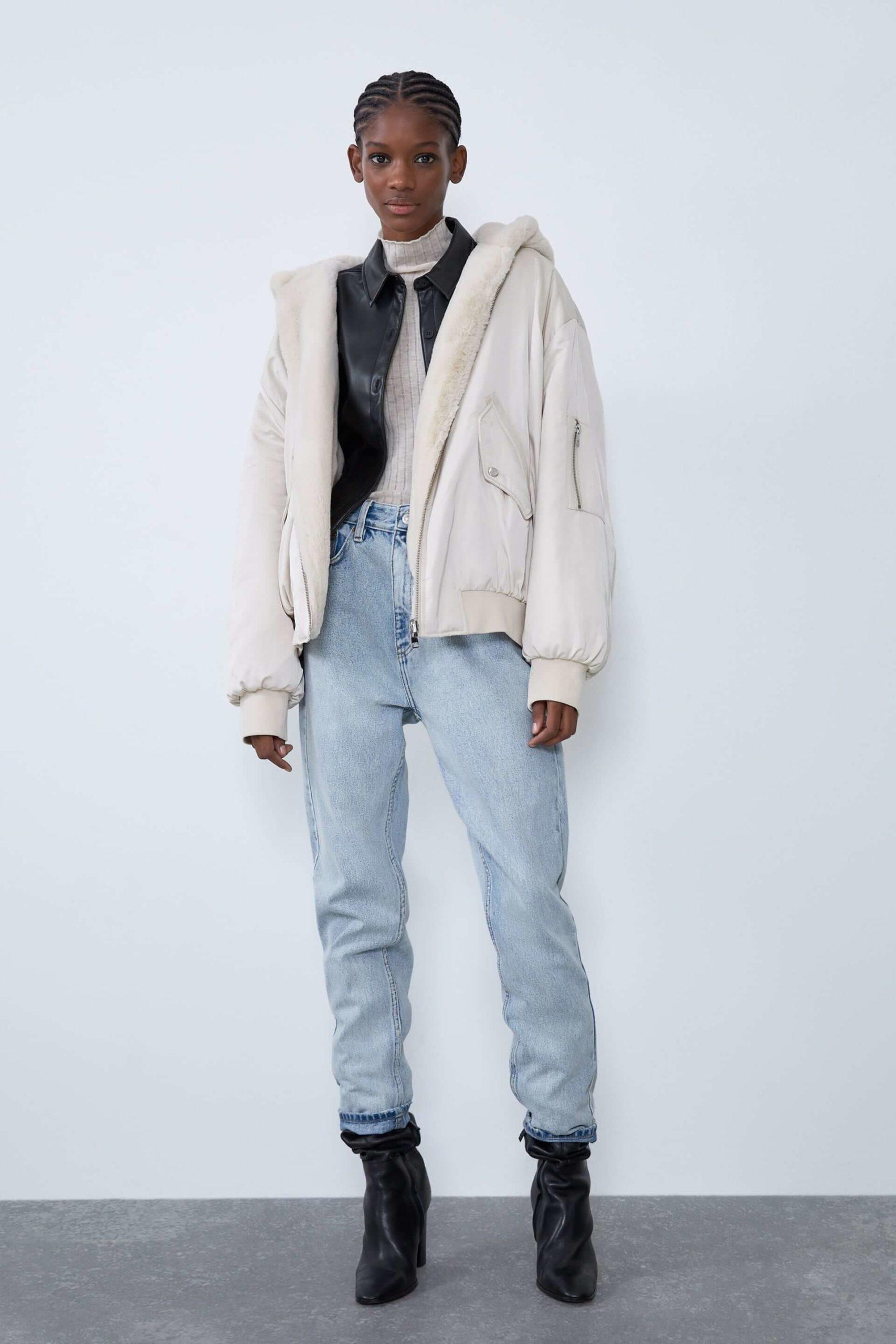 Kadın Bomber Ceket Modelleri Zara