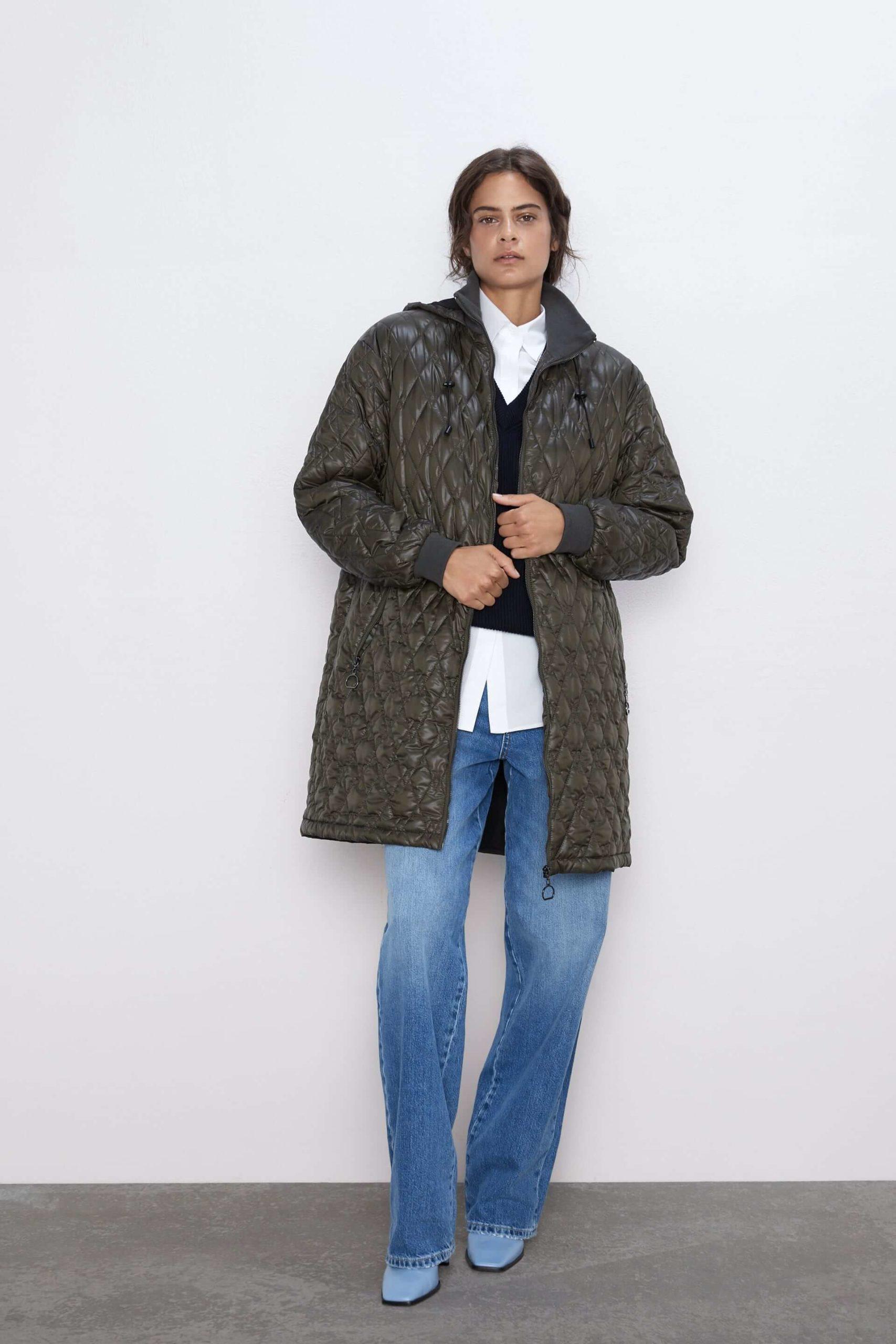 Zara Şişme Mont Modelleri