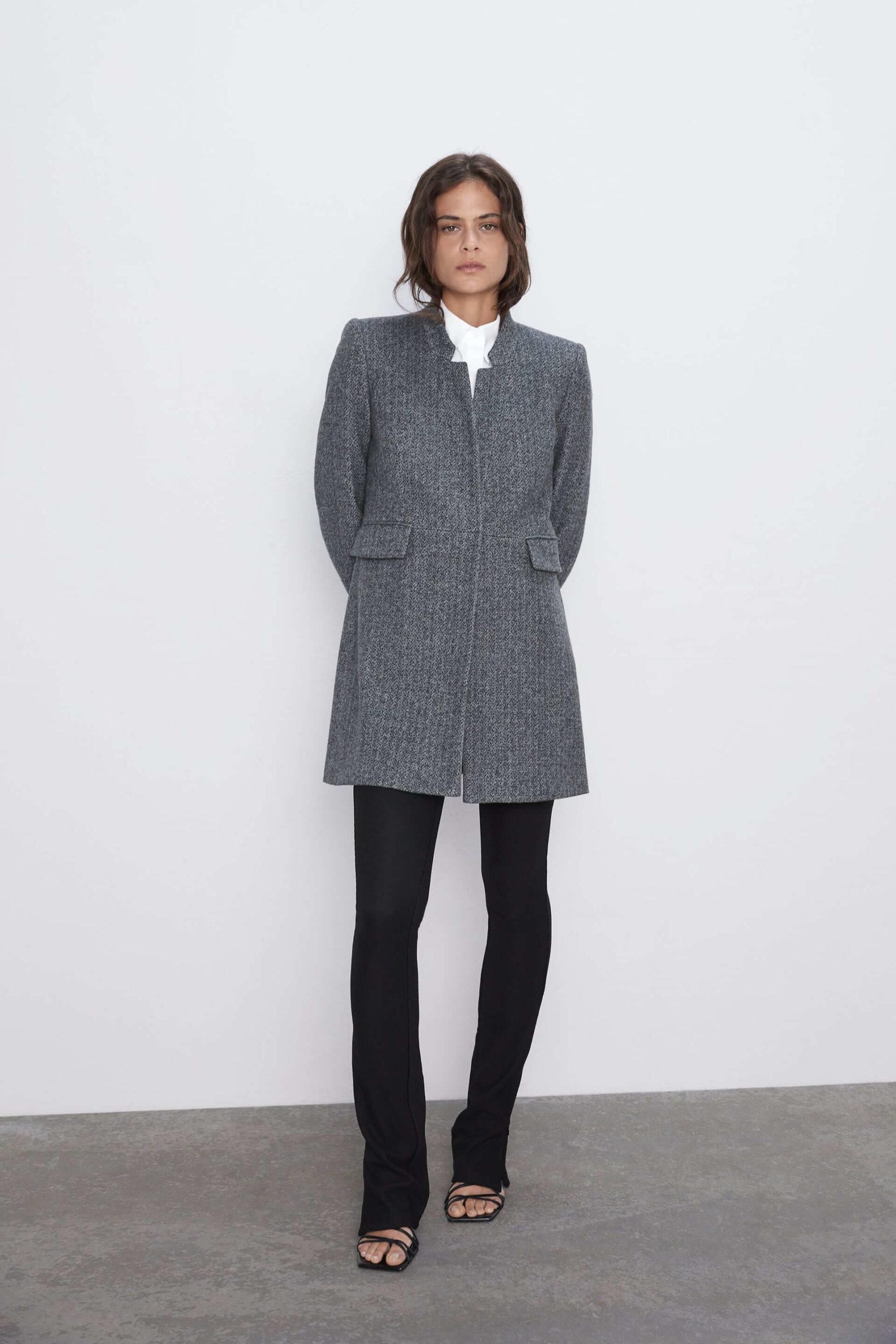 Zara Kadın Kaban Modelelleri 2020