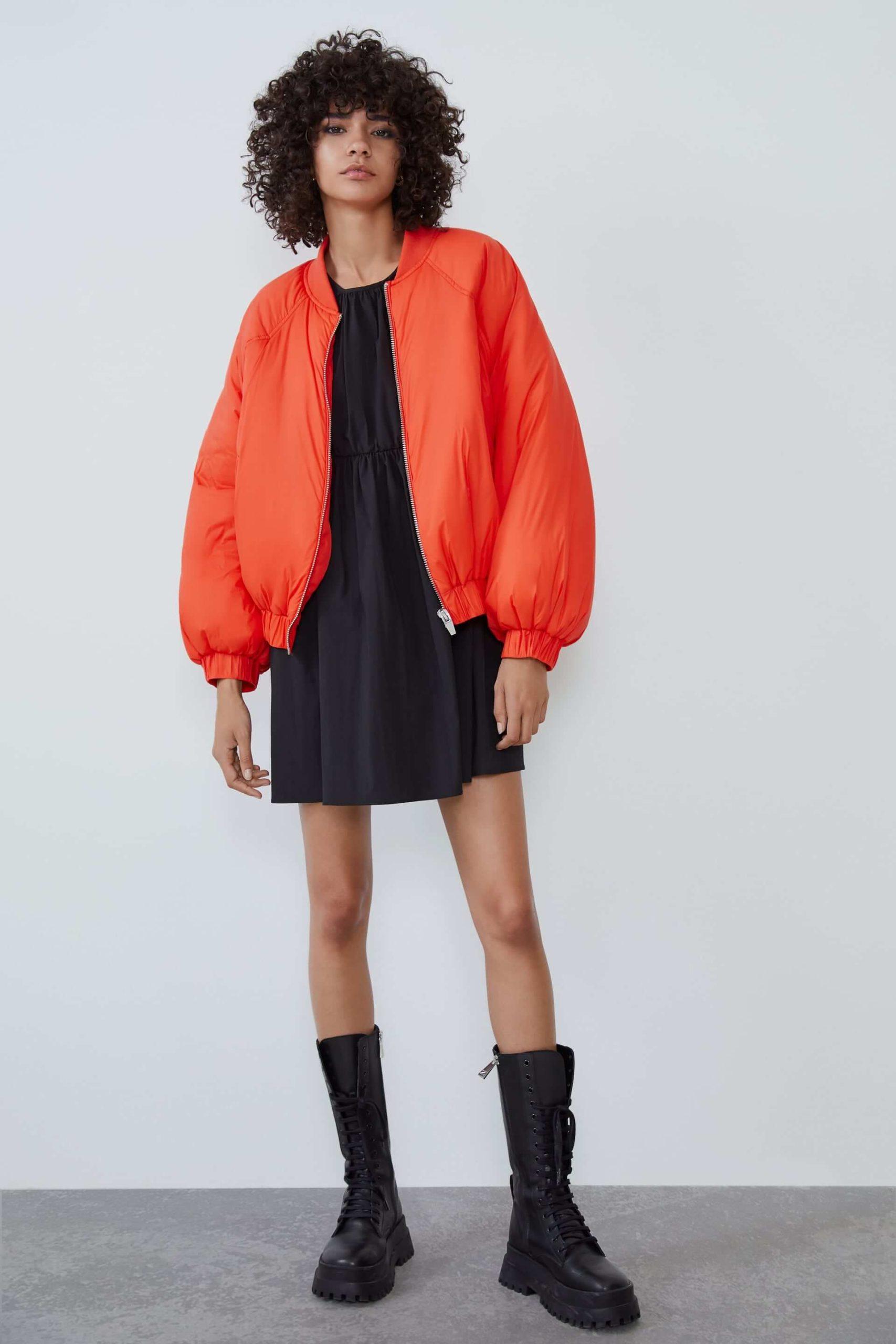 Kadın Bomber Ceket Zara 2020 Bomber Ceket Modelleri