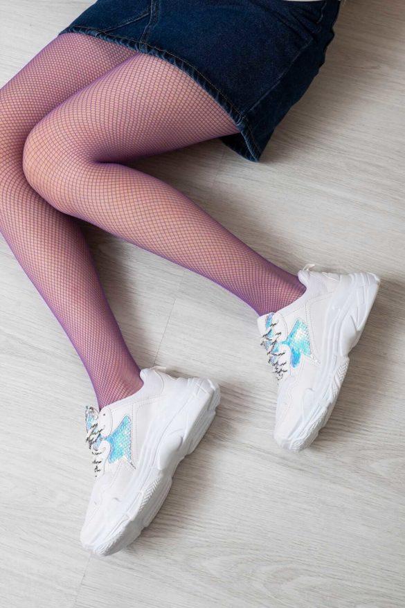 dolgu topuk spor ayakkabı
