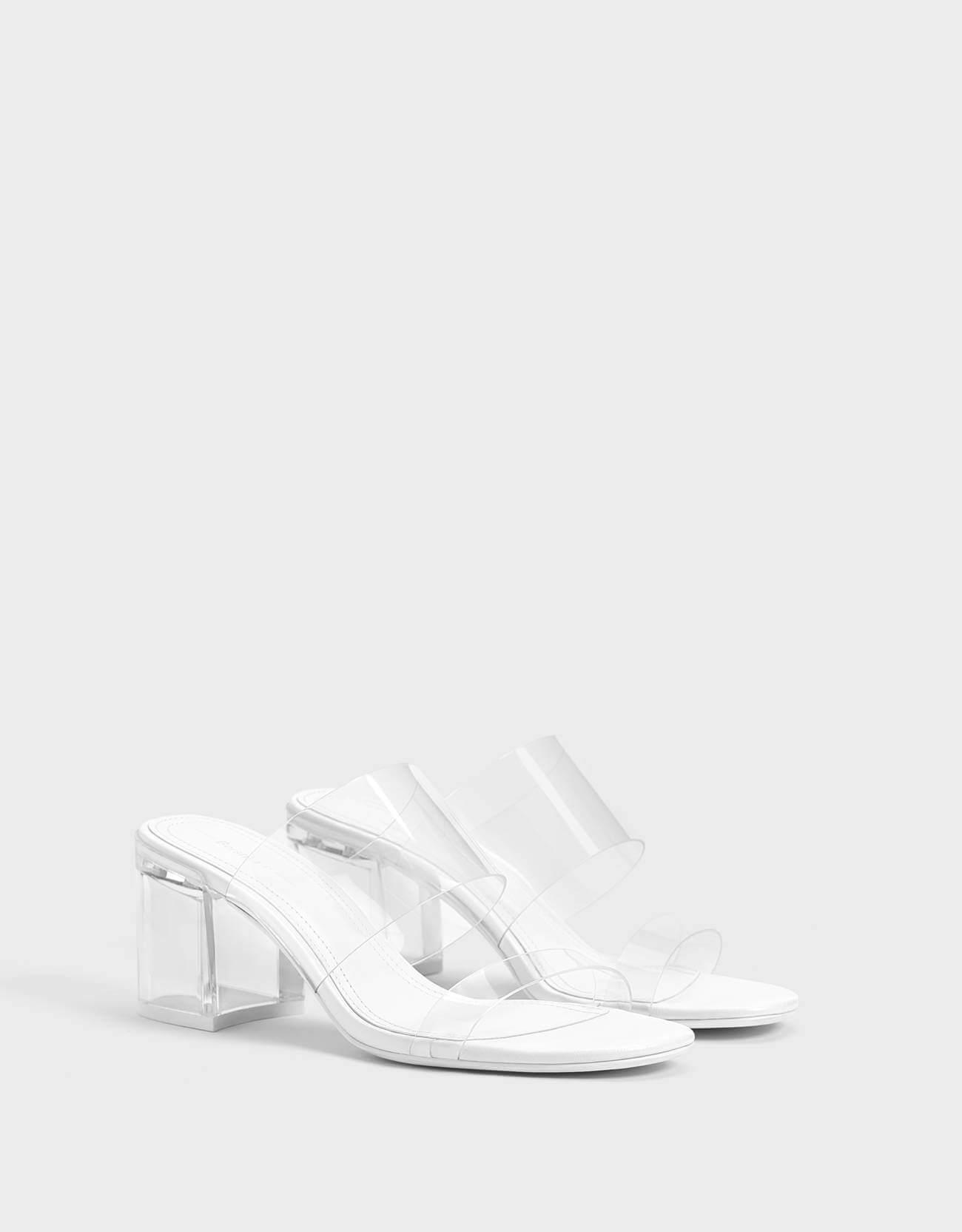 bershka kısa topuklu ayakkabı modelleri