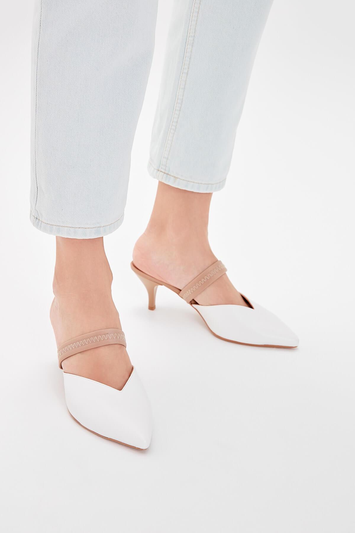 trendyol topuklu ayakkabı kısa topuklu ayakkabı