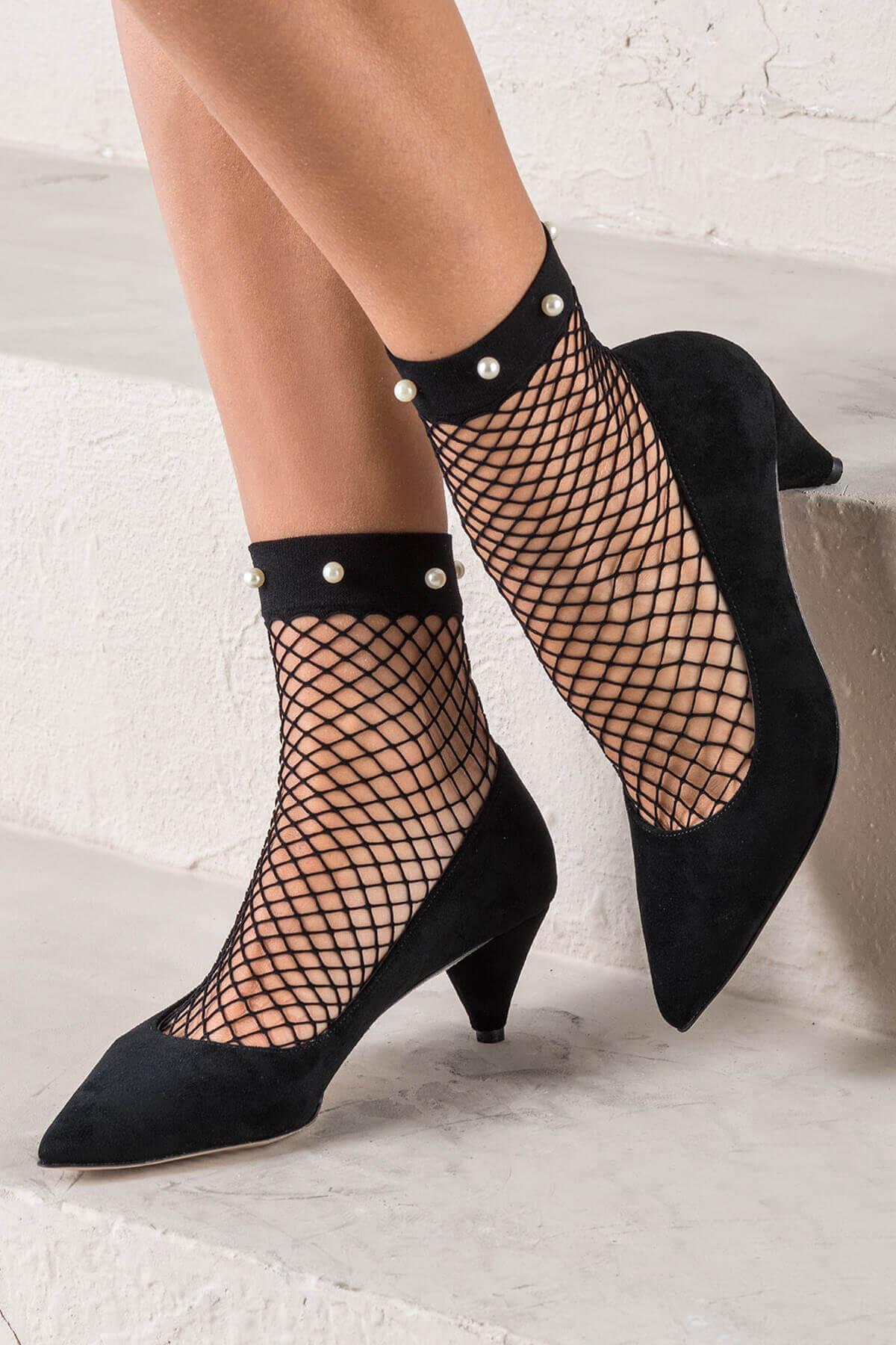 trendyol kısa topuklu ayakkabı modelleri