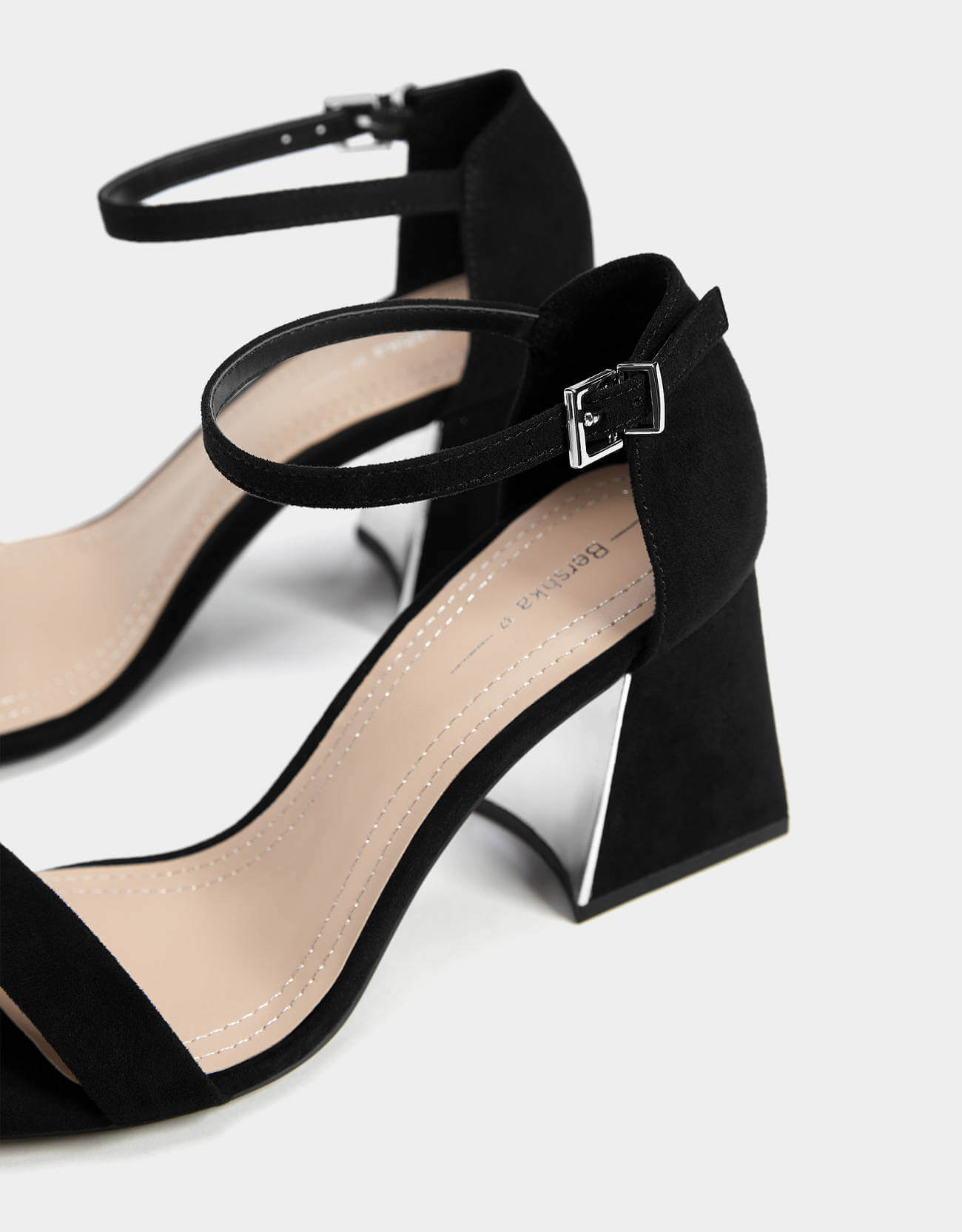 bershka kısa topuklu ayakkabı