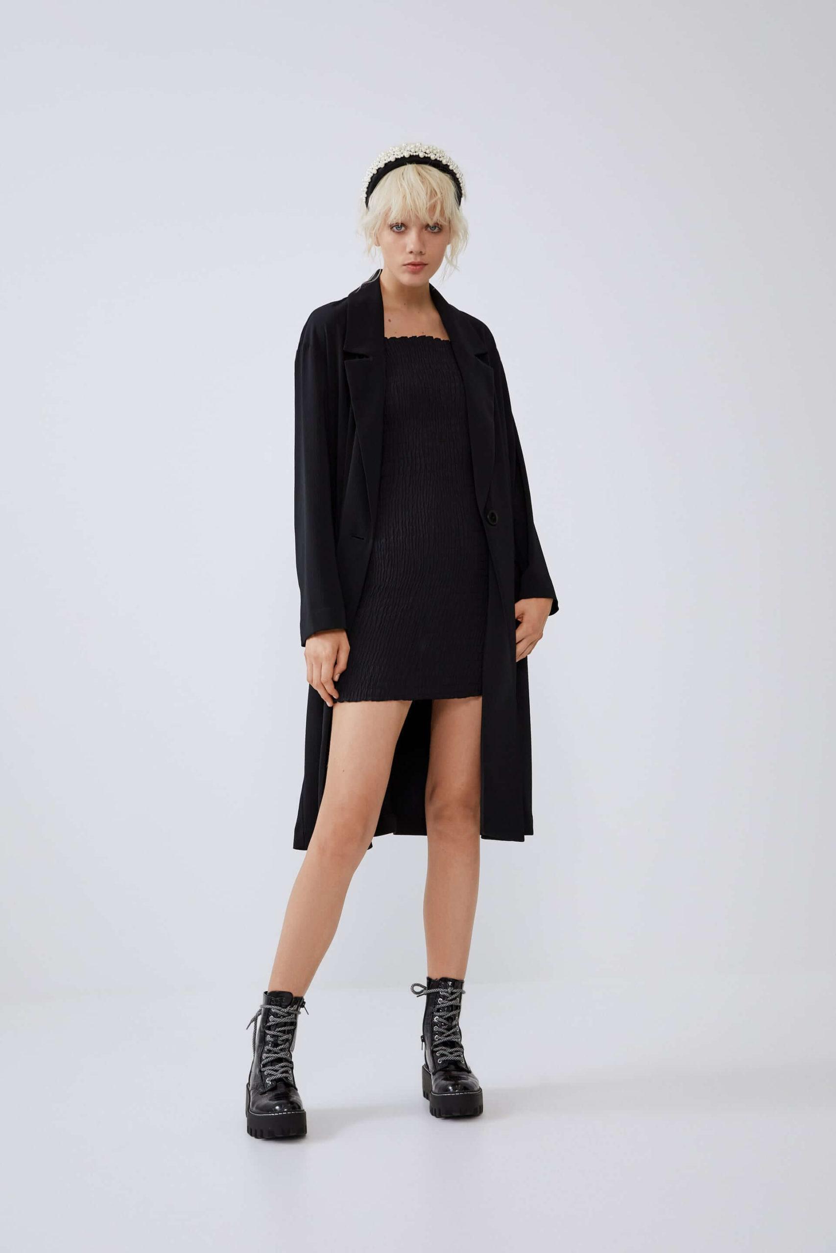 Zara Kadın Kaban Siyah