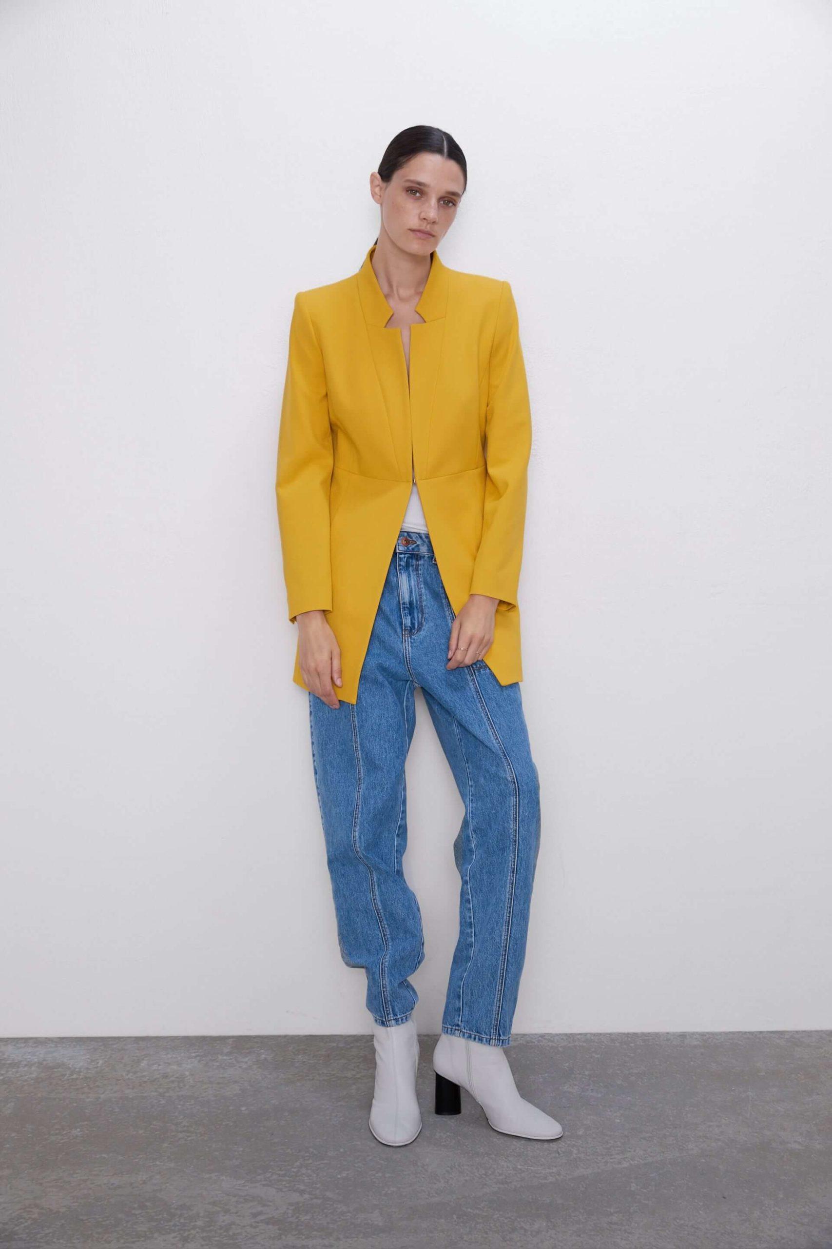 Zara Kadın Mont Modelleri